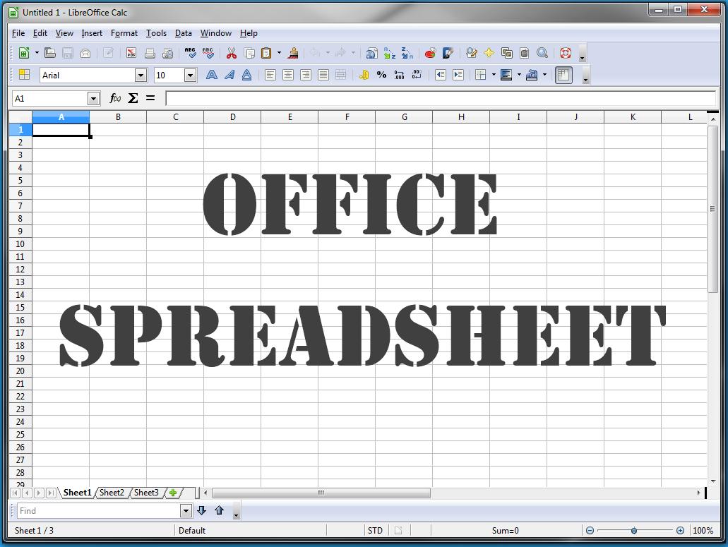 LibreOffice: Calc